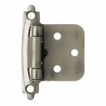 Brainerd Mfg Co/Liberty Hdw H0103AZ-AP-O3 Overlay Hinge, Self-Closing, Antique Pewter