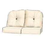 Chicago Wicker & Trading 3332-02-318-1262-0000-3 Wilmington Collection Loveseat Cushion, 4-Piece