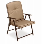 Courtyard Creations FUS52D3 Padded Folding Chair