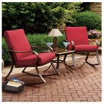 Courtyard Creations RUS0097 Bantry Bay Seating Set, Steel Frames, 3-Pc.
