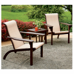 Westfield Outdoor S01-A1791K 3PC-SET Berlin Adirondack Chat Set, 3-Piece