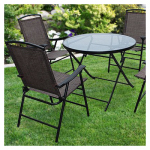 Westfield Outdoor S13-S998 SET Folding Chair/Table Set, 5-Piece