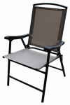 Westfield Outdoor S13-S998T Folding Sling Chair, Tan