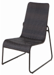 Letright Industrial 700.064.01 Fairlane Wicker Stacking Seating Chair