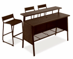 Letright Industrial 720.108.000 Concord Bar Set, 4-Pc.