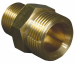 Apache Hose & Belting 99050019 3/8MPTxMale Metal or Metallic Adapter
