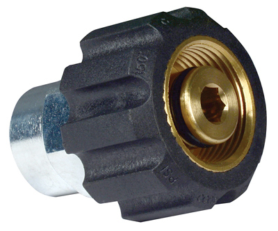 Apache Hose & Belting 99050021 Fem Metx3/8FPT Adapter