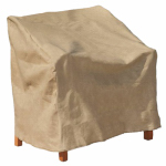 Budge Industries P1W04SFRC-N Chair Cover, XL, Tan