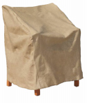 Budge Industries P1A03SFRC-N High-Back Chair Cover, Tan