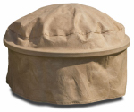 Budge Industries P9A25SFRC-N Fire Pit Cover, Tan, 39-In.