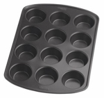 Wilton Industries 2105-6789 Muffin Pan, Non-Stick, 12-Cup