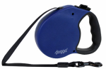 Pet Adventures Worldwide DGO RLSH BL MD Retractable Leash, Medium, Blue, 16-Ft.