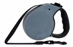 Pet Adventures Worldwide DGO RLSH GG LG Retractable Leash, Large, Granite Gray, 16-Ft.