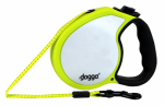 Pet Adventures Worldwide DGO RLSH NY SM Retractable Leash, Small, Neon Yellow, 13-Ft.