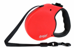 Pet Adventures Worldwide DGO RLSH RD SM Retractable Leash, Small, Red, 13-Ft.