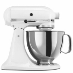 Kitchenaid KSM150PSWH Artisan Tilt Head Stand Mixer, White