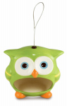 Heath Manufacturing 21516 Wild Bird Feeder, Owen The Owl, Ceramic