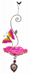 Heath Manufacturing 21523 Wild Bird Feeder, Butterfly Bliss, Pink
