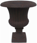 "Williams Bay Products F212C-137 Venetian 15"" Rust Urn"