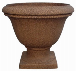 "Williams Bay Products SL6080-S10 Lillian 16"" Rust Urn"