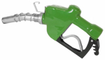 Tuthill N100DAU12G Automatic Diesel Nozzle, High-Flow, Green, 1-In.