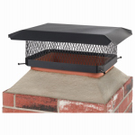 Hy-C SCC1317 13x17 BLK Chimney Cover