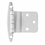 Brainerd Mfg Co/Liberty Hdw H00930C-CHR-O3 Inset Hinge, Chrome-Plated, 3/8-In. 2-Pk.