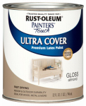 Rust-Oleum 1994-502 QT Almond Gloss or Glass Latex Paint