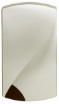 Thomas & Betts DH253 Wired Door Chime, Brushed Nickel