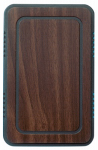 Thomas & Betts DH315 Wired Door Chime, Walnut & Black
