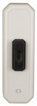 Thomas & Betts RC4121 Wireless Door Chime Button, Long-Range, White & Black
