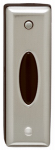 Thomas & Betts RC4133 Wireless Door Chime Button, Satin Nickel