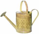 Robert Allen MPT01501 Watering Can, Metal, Yellow, 2-Gals.