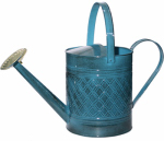 Robert Allen MPT01503 Watering Can, Metal, Blue, 2-Gals.