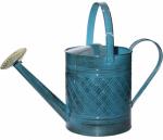 Robert Allen MPT01503 Watering Can, Metal, Blue, 2-Gals.