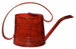 Robert Allen MPT01507 Watering Can, Metal, Red, .5-Gal.