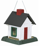 North State Ind 9080 Cottage Bird Feeder, White