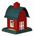 North State Ind 9081 Red Barn Bird Feeder