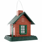 North State Ind 9083 Log Cabin Bird Feeder