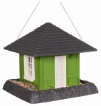 North State Ind 9097W Green Garden House Bird Feeder
