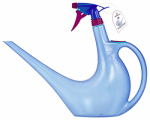 Scheurich Usa 50446 Watering Can / Spray Bottle in 1, Blue, 40-oz.