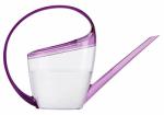 Scheurich Usa 51832 Watering Can, Loop Handle, Transparent/Violet Plastic, 47-oz.