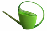 Scheurich Usa 56636 Watering Can, Loop Handle, Green Plastic, 47-oz.