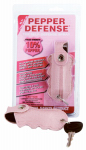 Personal Safety PD-2P Personal Defense Pepper Spray, 10%, Pink Crocodile Holster, 1/2-oz.