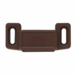 Brainerd Mfg Co/Liberty Hdw 69390 Cabinet Catch With Strike, Magnetic, Brown