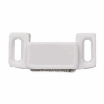 Brainerd Mfg Co/Liberty Hdw C080X1L-W-U1 Cabinet Catch With Strike, Magnetic, White, 10-Pk.