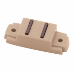 "Brainerd Mfg Co/Liberty Hdw C08700L-T-U Cabinet Catch, ""L"" Strike, Magnetic, Tan, 2-Pk."
