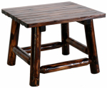 United General Supply TX93702 End Table, Solid-Wood, 24 x 24 x 19-In.