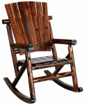 United General Supply TX93860 Rocking Chair, Solid-Wood