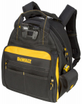 Custom Leathercraft DGL523 Tool Backpack Bag, LED Light, 57-Pocket